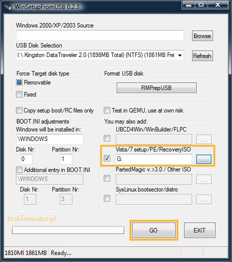 Kopiowanie plików w WinSetupFromUSB