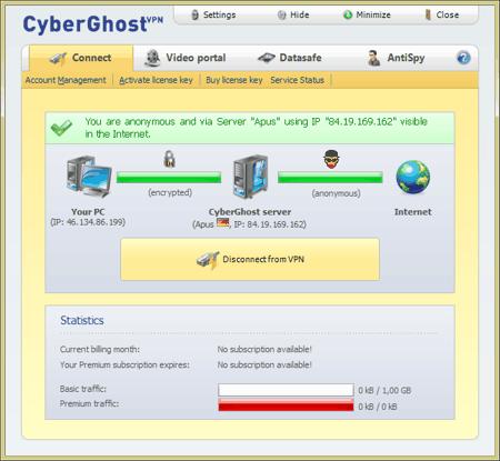 Połączenie z VPN