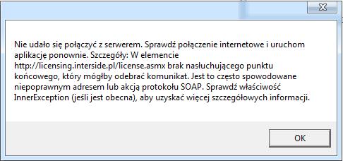 Seo-Stat Mini, błąd połączenia z serwerem