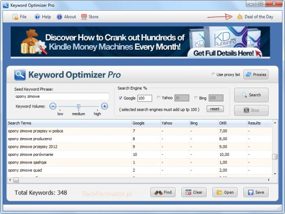 Keyword Optimizer Pro Free