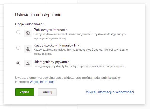 Google Docs Disavow