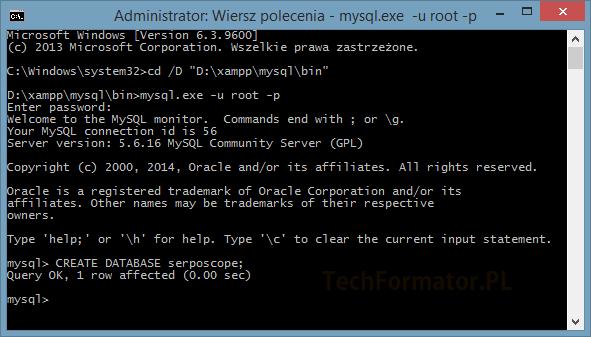 MySQL cmd