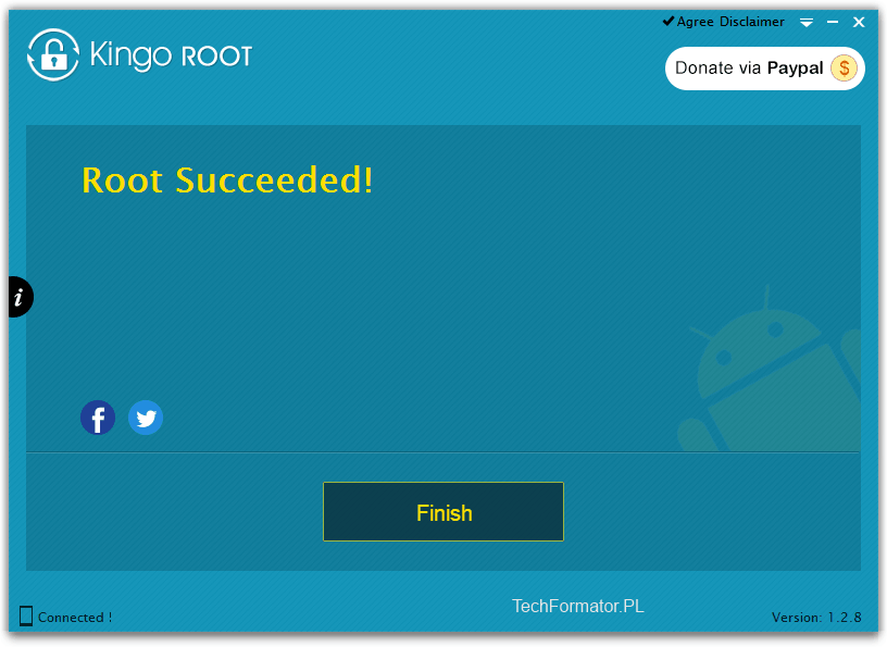 Kingo Root Succeeded