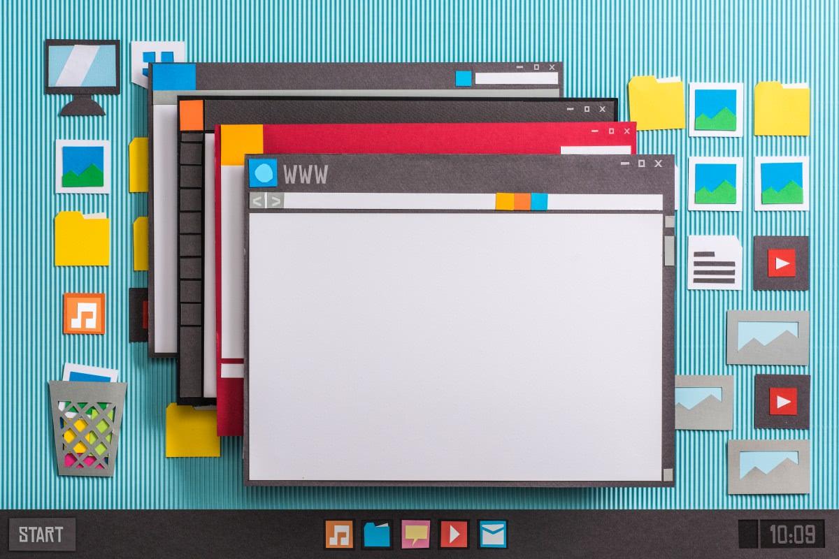 okna aplikacji windows