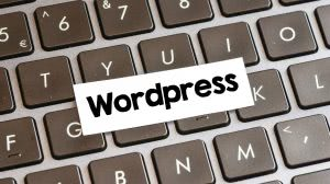 wordpress napis