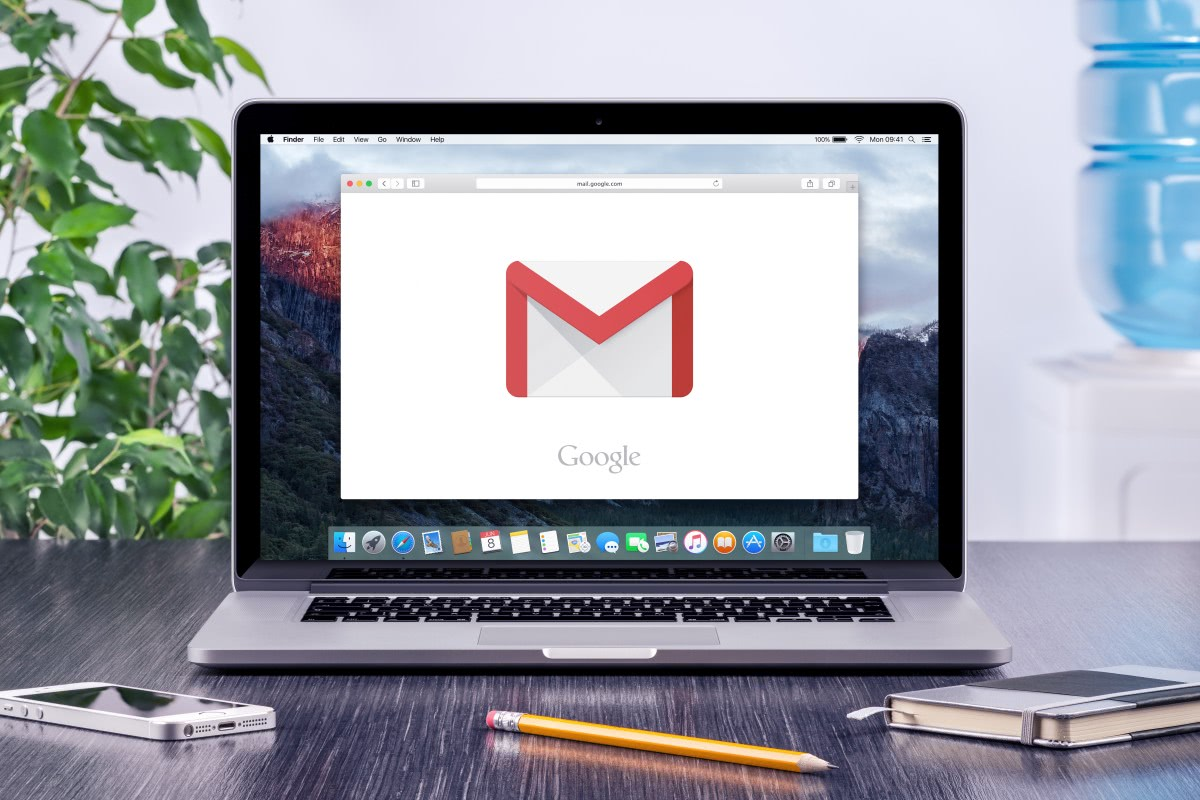 laptop gmail