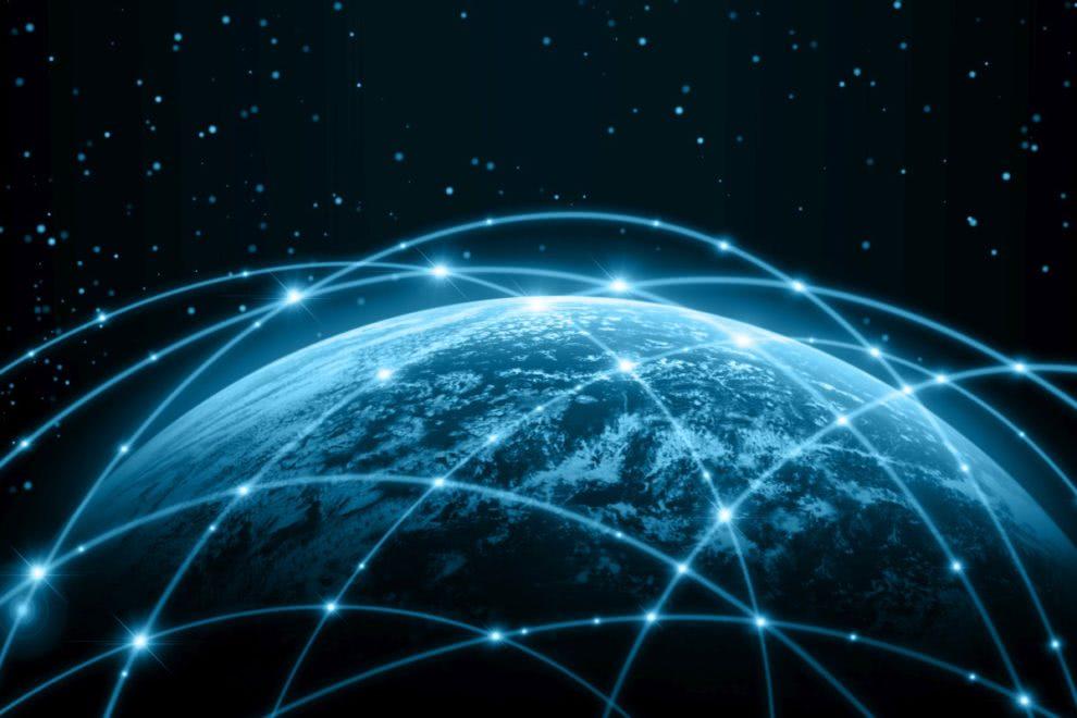 sieć ziemia