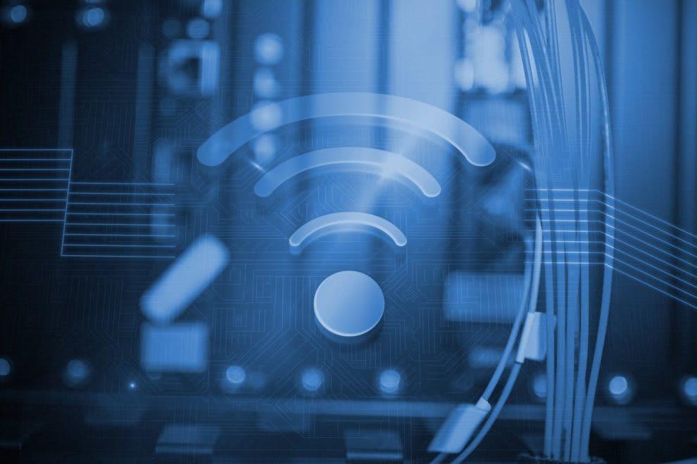 wifi blue