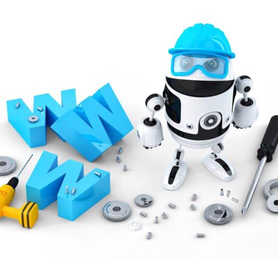 Konstrukcja strony WWW - Robot