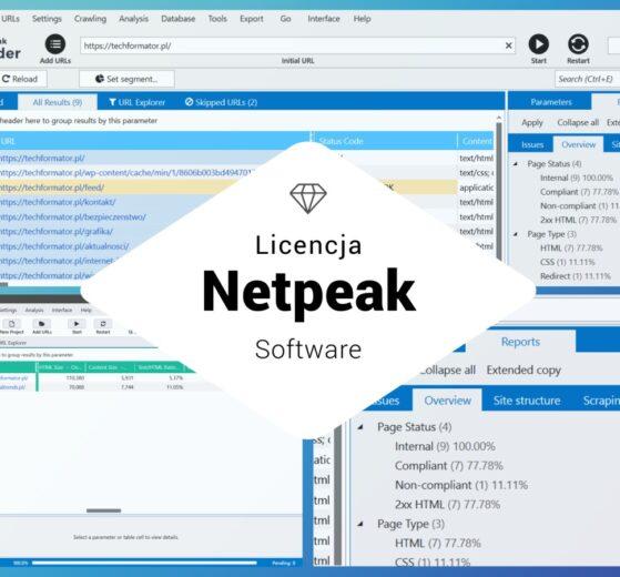 licencja netpeak software