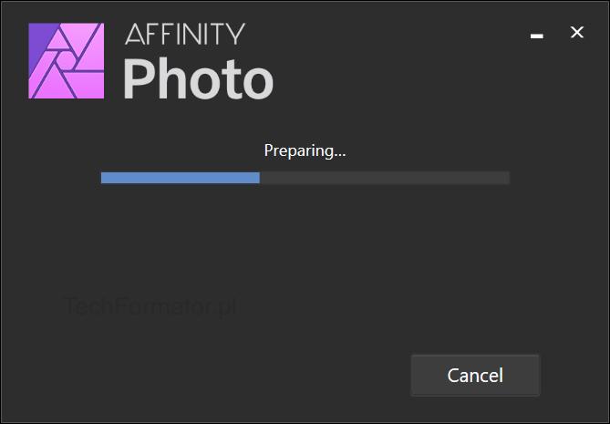 Instalacja Affinity