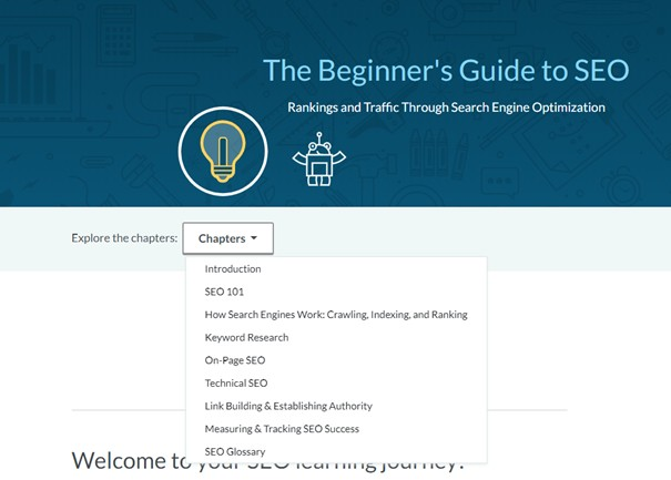 moz begginners seo guide