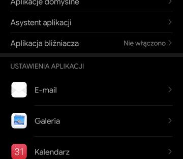 Ustawienia na Androidzie - Aplikacje
